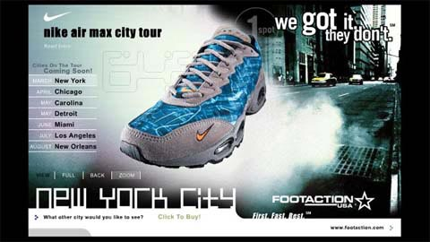 Footaction – Nike: Air Max City Tour Promo