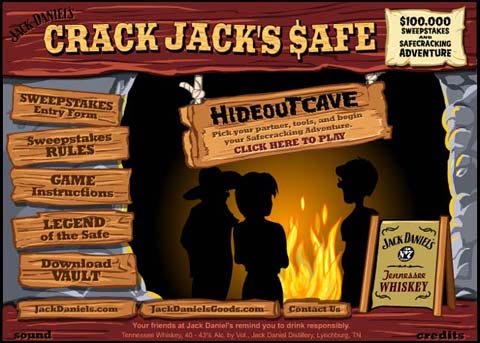Post image for Jack Daniels – Crack Jack's Safe Sweepstakes Promotion