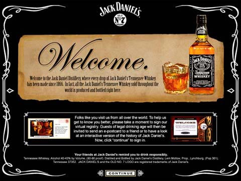 Post image for Jack Daniels – Visitor Center Kiosk