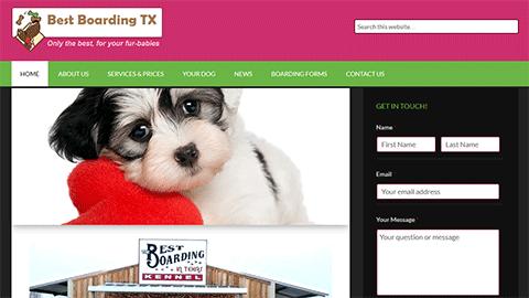 BestBoardingTx Website