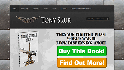 Author Tony Skur Website