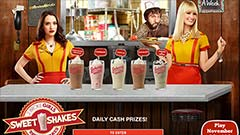 Thumbnail image for 2 Broke Girls – Sweet Shakes Sweepstakes