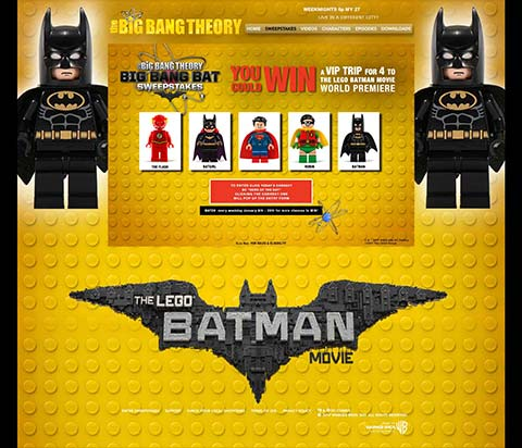 Big Bang Theory - Big Bang Bat Contest Page