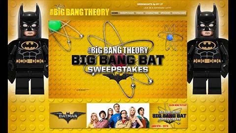 Post image for Big Bang Theory – Big Bang Bat Sweepstakes