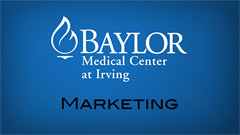 Thumbnail image for Baylor Regional Medical Center at Irving – Marketing Video