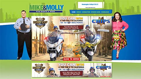 Post image for Mike & Molly – Buddy Cop Sweepstakes